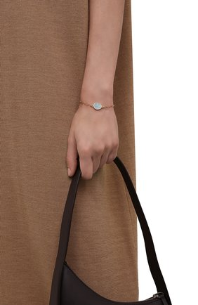 Женский браслет HANKA_IN золотого цвета, арт. KAR-BR-AMA | Фото 2 (Материал: Металл)
