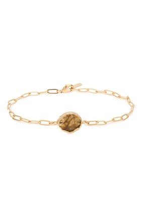 Женский браслет HANKA_IN золотого цвета, арт. KAR-BR-LAB | Фото 1 (Материал: Металл)