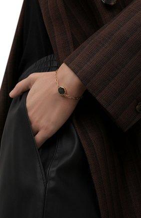 Женский браслет HANKA_IN золотого цвета, арт. KAR-BR-LAB | Фото 2 (Материал: Металл)