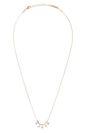 Женское колье HANKA_IN золотого цвета, арт. STA5-C0-L0S | Фото 1 (Материал: Металл)