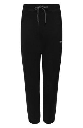Женские хлопковые джоггеры reebok x victoria beckham REEBOK черного цвета, арт. H30283   Фото 1 (Длина (брюки, джинсы): Стандартные; Материал внешний: Хлопок; Стили: Спорт-шик; Женское Кросс-КТ: Джоггеры - брюки, Брюки-спорт; Силуэт Ж (брюки и джинсы): Джоггеры)