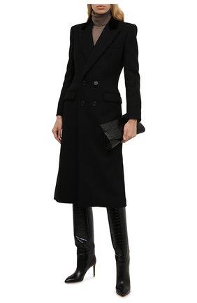 Шерстяное пальто   Фото №2