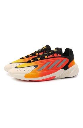 Мужские кроссовки ozelia ADIDAS ORIGINALS оранжевого цвета, арт. G54894 | Фото 1 (Материал внешний: Текстиль; Подошва: Массивная; Стили: Спорт)