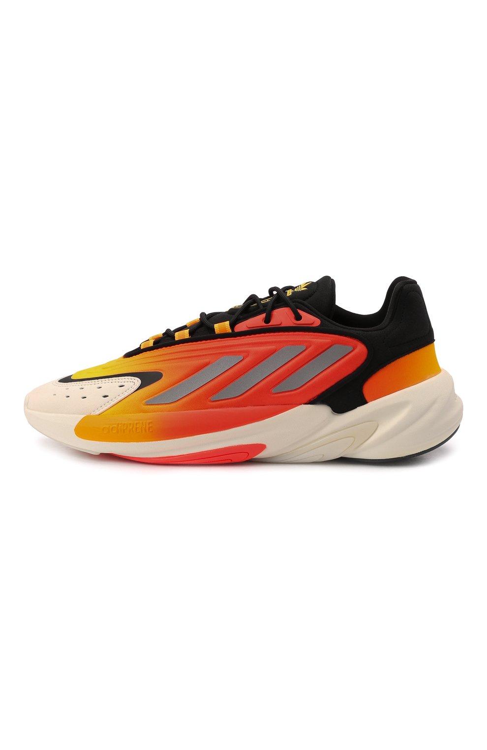 Мужские кроссовки ozelia ADIDAS ORIGINALS оранжевого цвета, арт. G54894 | Фото 3 (Материал внешний: Текстиль; Подошва: Массивная; Стили: Спорт)