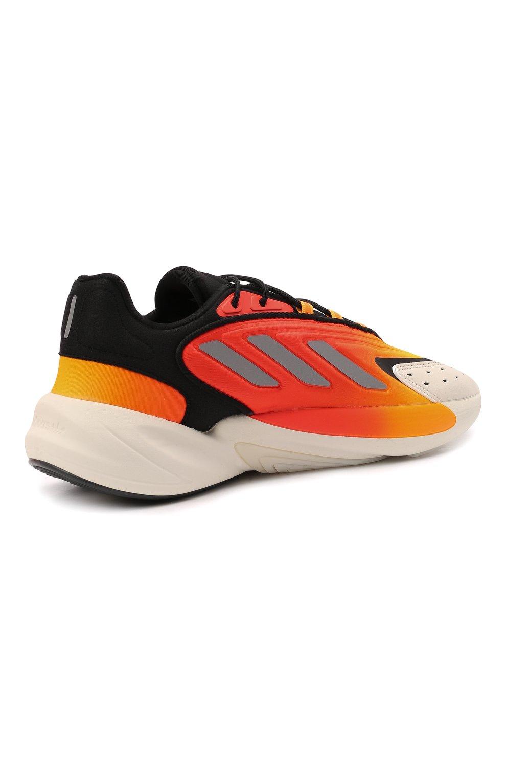 Мужские кроссовки ozelia ADIDAS ORIGINALS оранжевого цвета, арт. G54894 | Фото 4 (Материал внешний: Текстиль; Подошва: Массивная; Стили: Спорт)