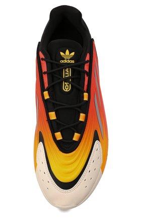 Мужские кроссовки ozelia ADIDAS ORIGINALS оранжевого цвета, арт. G54894 | Фото 5 (Материал внешний: Текстиль; Подошва: Массивная; Стили: Спорт)