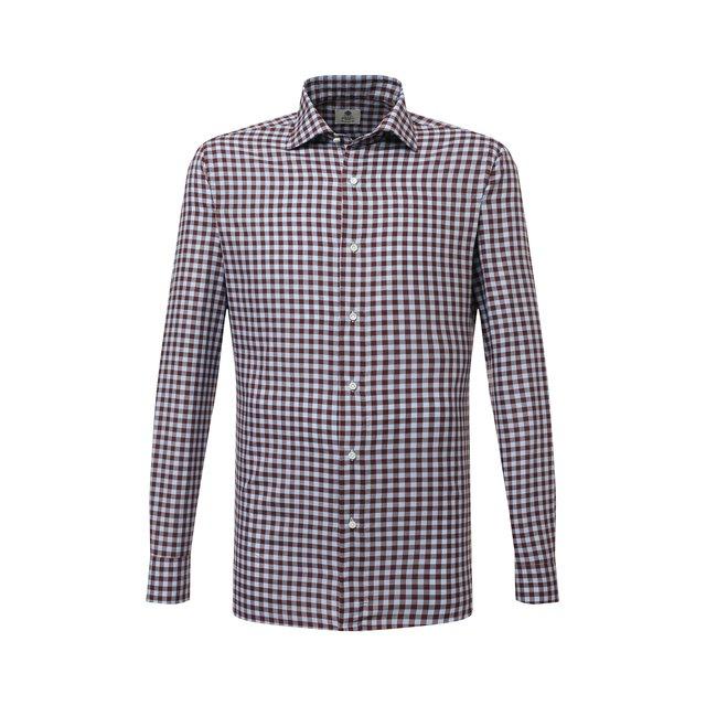 Хлопковая сорочка Luigi Borrelli 12277160