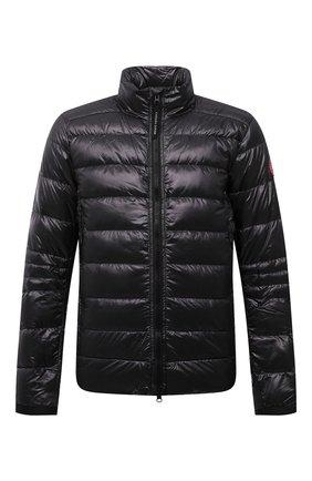 Мужская пуховая куртка crofton CANADA GOOSE темно-серого цвета, арт. 2228M | Фото 1 (Материал подклада: Синтетический материал; Материал внешний: Синтетический материал; Материал утеплителя: Пух и перо; Кросс-КТ: Куртка; Длина (верхняя одежда): Короткие; Стили: Спорт-шик; Мужское Кросс-КТ: пуховик-короткий; Рукава: Длинные)