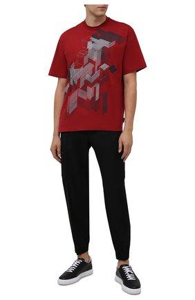 Мужские шерстяные джоггеры Z ZEGNA черного цвета, арт. 2ZF283/73V2C2   Фото 2 (Длина (брюки, джинсы): Стандартные; Материал внешний: Шерсть; Силуэт М (брюки): Джоггеры; Стили: Кэжуэл)