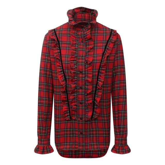 Шерстяная блузка Saint Laurent