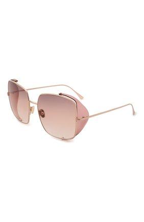 Женские солнцезащитные очки TOM FORD светло-розового цвета, арт. TF901 28F | Фото 1 (Тип очков: С/з; Оптика Гендер: оптика-женское; Очки форма: Квадратные)