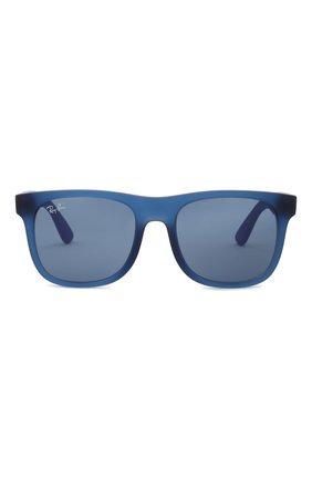 Детские солнцезащитные очки RAY-BAN синего цвета, арт. 9069S-706080   Фото 2