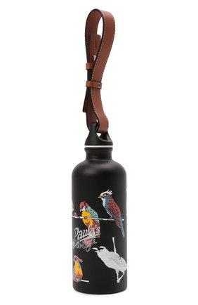 Женского бутылка loewe x paula's ibiza LOEWE черного цвета, арт. K000A20X03   Фото 2 (Материал: Металл)