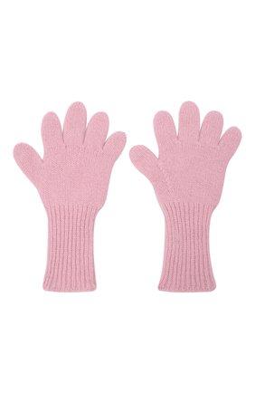 Детские кашемировые перчатки GIORGETTI CASHMERE розового цвета, арт. MB1699/4A | Фото 2 (Материал: Кашемир, Шерсть)
