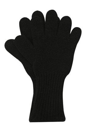 Детские кашемировые перчатки GIORGETTI CASHMERE черного цвета, арт. MB1699/4A | Фото 1 (Материал: Шерсть, Кашемир)