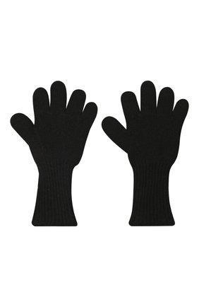 Детские кашемировые перчатки GIORGETTI CASHMERE черного цвета, арт. MB1699/4A | Фото 2 (Материал: Шерсть, Кашемир)