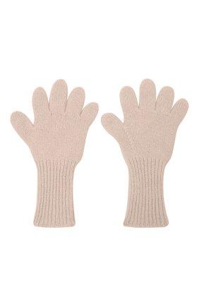 Детские кашемировые перчатки GIORGETTI CASHMERE бежевого цвета, арт. MB1699/8A | Фото 2 (Материал: Шерсть, Кашемир)