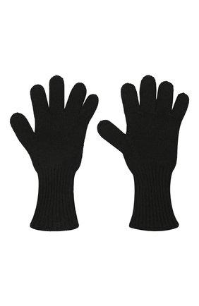Детские кашемировые перчатки GIORGETTI CASHMERE черного цвета, арт. MB1699/8A | Фото 2 (Материал: Шерсть, Кашемир)