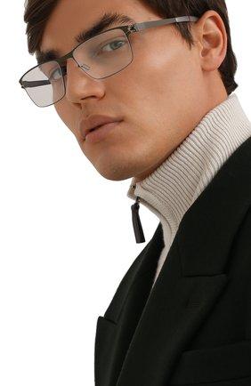 Мужские оправа MYKITA черного цвета, арт. MARL0WE/CAM0UGREEN | Фото 2 (Тип очков: Оправа)