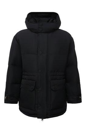 Мужская утепленная куртка ALEXANDER MCQUEEN черного цвета, арт. 662284/QRR67 | Фото 1 (Материал подклада: Синтетический материал; Материал внешний: Синтетический материал; Рукава: Длинные; Длина (верхняя одежда): До середины бедра; Кросс-КТ: Куртка; Стили: Спорт-шик; Мужское Кросс-КТ: пуховик-короткий)
