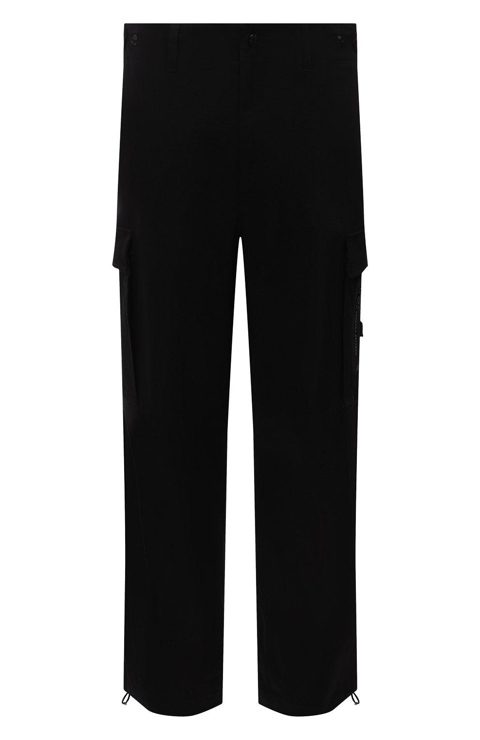 Мужские хлопковые брюки-карго 2 moncler 1952 MONCLER GENIUS черного цвета, арт. G2-091-2A000-22-54A1U | Фото 1 (Силуэт М (брюки): Карго; Длина (брюки, джинсы): Стандартные; Случай: Повседневный; Стили: Гранж; Материал внешний: Хлопок)