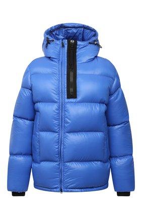 Мужская пуховик guitry MONCLER голубого цвета, арт. G2-091-1A001-37-68950 | Фото 1 (Материал внешний: Синтетический материал; Материал утеплителя: Пух и перо; Материал подклада: Синтетический материал; Кросс-КТ: Куртка; Стили: Спорт-шик; Длина (верхняя одежда): Короткие; Мужское Кросс-КТ: пуховик-короткий; Рукава: Длинные)