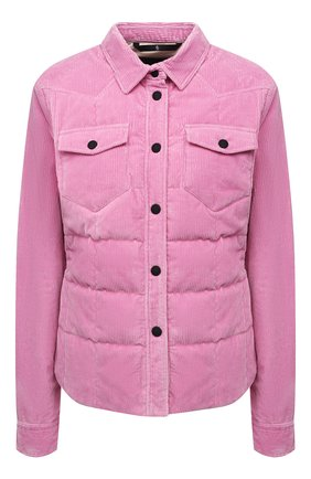 Женская хлопковая куртка nangy MONCLER GRENOBLE розового цвета, арт. G2-098-1A000-07-595E0   Фото 1 (Длина (верхняя одежда): Короткие; Материал утеплителя: Пух и перо; Рукава: Длинные; Материал подклада: Синтетический материал; Материал внешний: Хлопок; Кросс-КТ: Куртка; Стили: Спорт-шик)