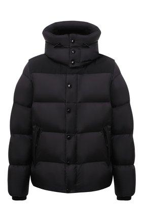 Мужская пуховая куртка BURBERRY черного цвета, арт. 8043844 | Фото 1 (Материал внешний: Синтетический материал; Материал утеплителя: Пух и перо; Материал подклада: Синтетический материал; Рукава: Длинные; Длина (верхняя одежда): Короткие; Кросс-КТ: Куртка; Мужское Кросс-КТ: пуховик-короткий; Стили: Кэжуэл)