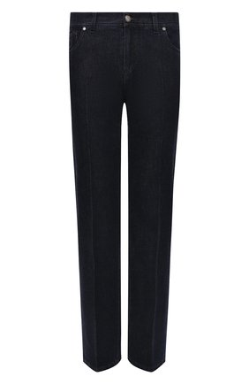 Мужские джинсы ANDREA CAMPAGNA темно-синего цвета, арт. AC402/T27.W00D | Фото 1 (Материал внешний: Хлопок; Длина (брюки, джинсы): Стандартные; Кросс-КТ: Деним; Стили: Классический; Силуэт М (брюки): Прямые)