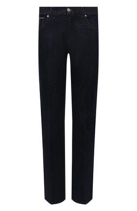 Мужские джинсы ANDREA CAMPAGNA темно-синего цвета, арт. AC402/T203.W00E | Фото 1 (Материал внешний: Хлопок; Кросс-КТ: Деним; Стили: Классический; Силуэт М (брюки): Прямые; Длина (брюки, джинсы): Стандартные)