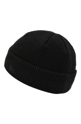Мужская шапка YOHJI YAMAMOTO черного цвета, арт. HX-H68-977 | Фото 2 (Материал: Текстиль, Синтетический материал; Кросс-КТ: Трикотаж)