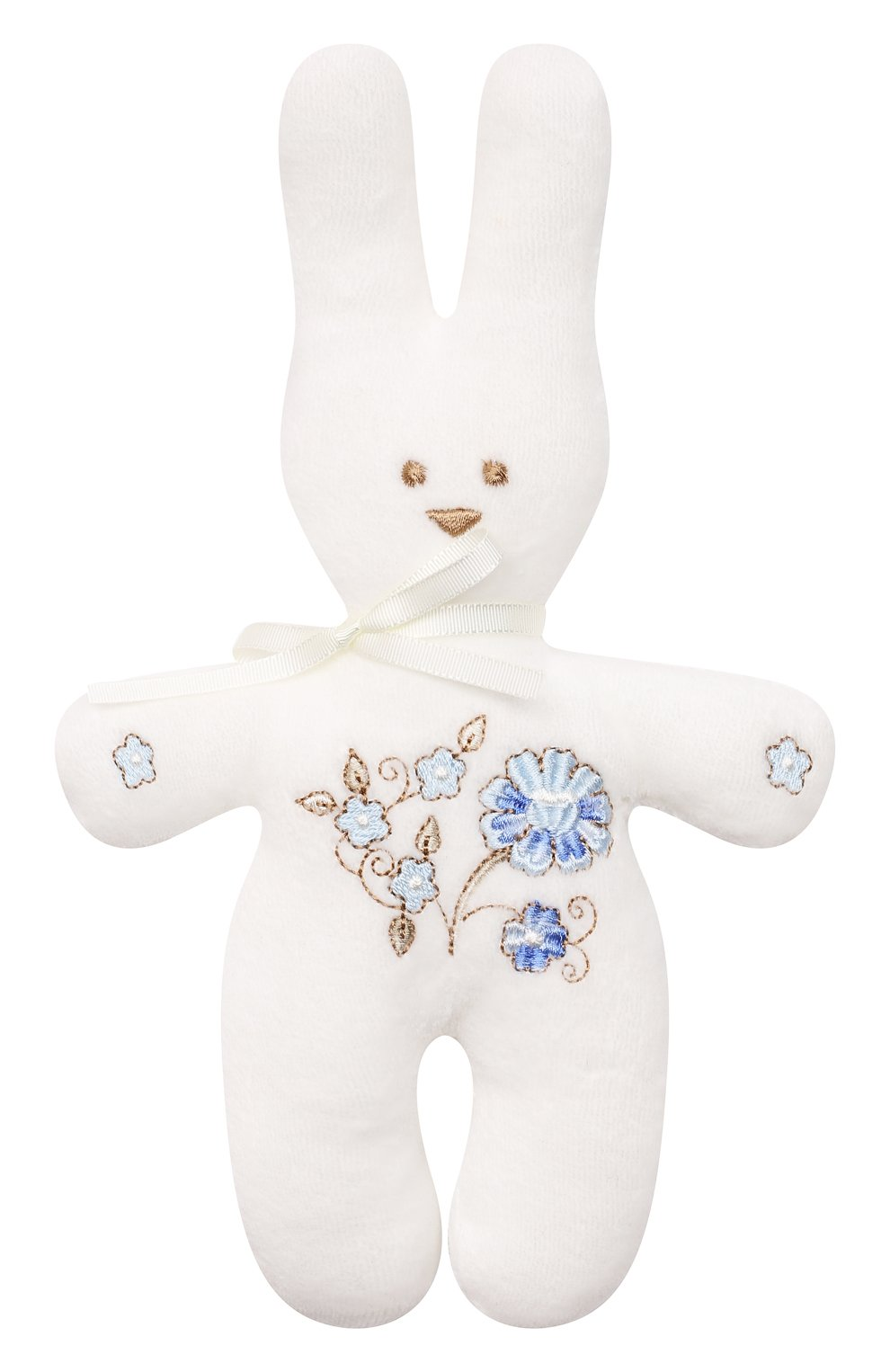 Детского комплект из четырех предметов ferrario CHEPE голубого цвета, арт. 071431 | Фото 9 (Материал внешний: Хлопок; Ростовка одежда: 0 - 3 мес | 50 - 60 см)