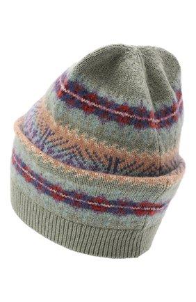 Детского шапка из шерсти и хлопка POLO RALPH LAUREN разноцветного цвета, арт. 313858546 | Фото 2 (Материал: Хлопок, Текстиль, Шерсть)