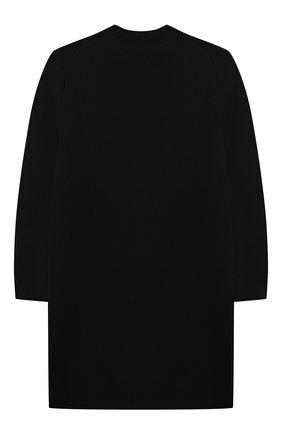 Детское платье из шерсти и кашемира BURBERRY черного цвета, арт. 8046103 | Фото 2 (Рукава: Длинные; Материал внешний: Шерсть, Кашемир; Девочки Кросс-КТ: Платье-одежда; Случай: Повседневный; Ростовка одежда: 10 - 11 лет | 140 - 146см, 12 лет | 152 см, 16 лет | 164 см, 3 года | 98 см, 4 года | 104 см, 6 лет | 116 см, 8 лет | 128 см)