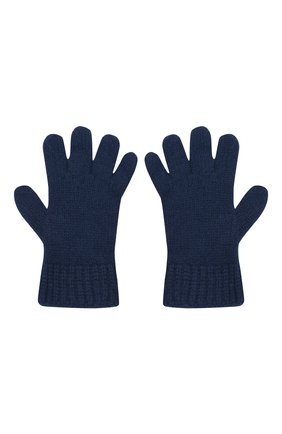 Детские кашемировые перчатки GIORGETTI CASHMERE темно-синего цвета, арт. MB1698/RASATI/12A | Фото 2 (Материал: Шерсть, Кашемир)