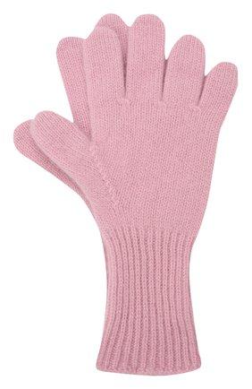 Детские кашемировые перчатки GIORGETTI CASHMERE розового цвета, арт. MB1699/12A | Фото 1 (Материал: Шерсть, Кашемир)