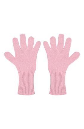 Детские кашемировые перчатки GIORGETTI CASHMERE розового цвета, арт. MB1699/12A | Фото 2 (Материал: Шерсть, Кашемир)