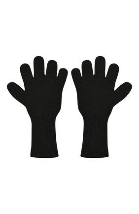 Детские кашемировые перчатки GIORGETTI CASHMERE черного цвета, арт. MB1699/12A | Фото 2 (Материал: Кашемир, Шерсть)