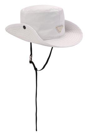 Мужская панама PRADA белого цвета, арт. 2HC025-2B15-F0009 | Фото 1 (Материал: Текстиль, Синтетический материал)