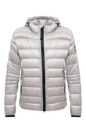 Мужская пуховая куртка crofton CANADA GOOSE светло-серого цвета, арт. 2227M   Фото 1 (Материал подклада: Синтетический материал; Материал внешний: Синтетический материал; Материал утеплителя: Пух и перо; Кросс-КТ: Куртка; Мужское Кросс-КТ: пуховик-короткий; Длина (верхняя одежда): Короткие; Стили: Спорт-шик; Рукава: Длинные)