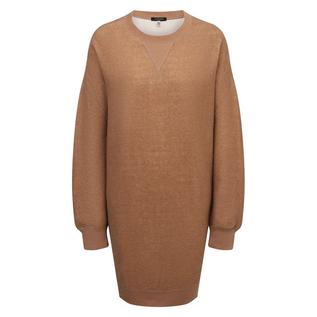 Платье из хлопка и шерсти R13