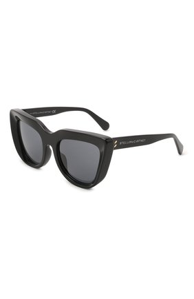 Женские солнцезащитные очки STELLA MCCARTNEY черного цвета, арт. SC40007I-01A | Фото 1 (Тип очков: С/з; Оптика Гендер: оптика-женское)