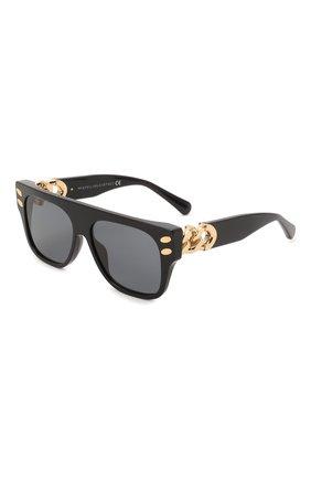 Женские солнцезащитные очки STELLA MCCARTNEY черного цвета, арт. SC40012I-01A | Фото 1 (Тип очков: С/з; Оптика Гендер: оптика-женское; Очки форма: Квадратные)