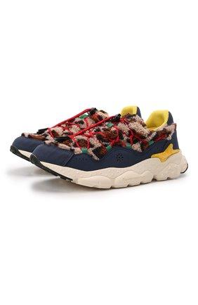 Детские кроссовки NATURINO разноцветного цвета, арт. 0012015499/06/27-32   Фото 1 (Материал внутренний: Натуральная кожа, Текстиль; Материал внешний: Текстиль; Стили: Гранж)