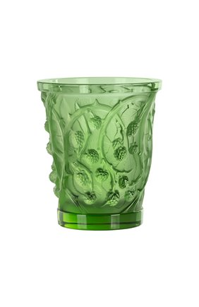 Ваза mures LALIQUE зеленого цвета, арт. 10746000   Фото 1