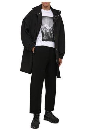 Мужские текстильные ботинки fitztreck PREMIATA черного цвета, арт. FITZTRECK/VAR209 | Фото 2 (Материал внешний: Текстиль; Подошва: Массивная; Материал внутренний: Натуральная кожа; Мужское Кросс-КТ: Ботинки-обувь, Хайкеры-обувь)