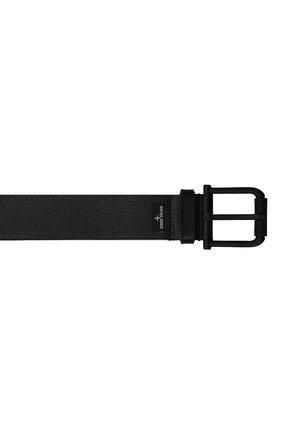 Мужской кожаный ремень STONE ISLAND черного цвета, арт. 751594772 | Фото 4 (Случай: Повседневный)