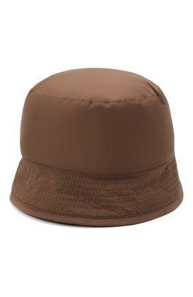 Мужская панама Z ZEGNA коричневого цвета, арт. Z2I79H/B2T | Фото 1 (Материал: Синтетический материал, Текстиль)