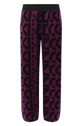 Женские джоггеры KENZO фиолетового цвета, арт. FB62PA7384MR   Фото 1 (Материал внешний: Синтетический материал; Длина (брюки, джинсы): Стандартные; Женское Кросс-КТ: Джоггеры - брюки; Силуэт Ж (брюки и джинсы): Джоггеры; Стили: Спорт-шик)