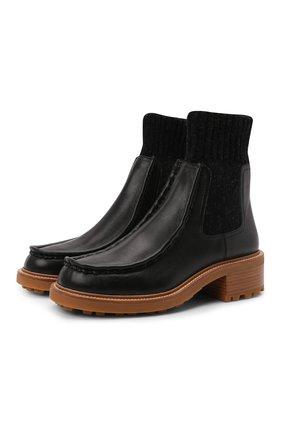 Кожаные ботинки Jamie | Фото №1